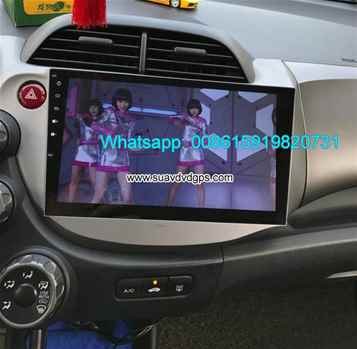 Honda Jazz Fit stereo radio Car android wifi GPS Multimedia camera